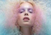 Barbe à papa / recherches / Photographe / Stylisme: Angel-ikk Lancelle Modele: Sofy Durier big up: Sophie Tembremande