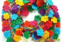 crochet : flowers and nature