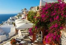 Mediterranean feeling from Greece /SANTORINI,NAXOS/