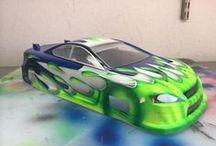 RC Cars Paint Jobs