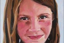 Oil portrait painting of people. / Custom digital oil portrait paintings.