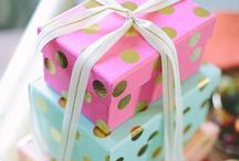 Party/gift/wrapping ideas