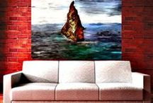 Landscape paintings dpa
