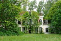 Beautiful abandoned houses