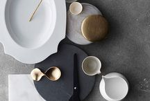 Tableware, bowls and cutlery
