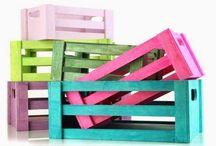 cajones/ pallets / Material reciclado