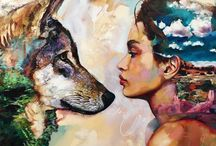 Art / Some cool paintings and drawings I find beautiful