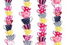 Cups & mugs / #tea addicted