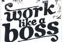 My job manifesto / Il mondo del lavoro secondo me