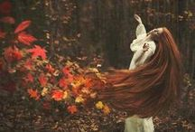 """To Autumn / """"Autumn is a second spring when every leaf is a flower."""" Albert Camus"""