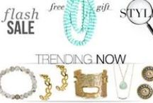 Fabulous Jewelry Boutique / Stylish new finds from emerging designers and on trend house brands.  All hand-picked, and all up to 60% off.  Go grab some style! / by Cindy Zahn
