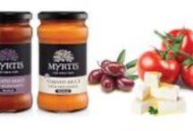 Myrtis Fine Greek Food - Tomato Sauces / Myrtis was conceived by Hellasco Ltd to deliver a premium product of traditional Greek Heritage.  Hellasco with its years of exporting Greek products collected a plethora of Delicacies: Spoon Sweets, Jams & Marmalades, Spreads, Honey and Tomato Sauces.