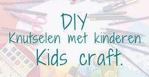 DIY. Knutselen met kinderen - Kids craft. / DIY - Knutselen met kinderen.  Leuke knutsel ideeën om met kinderen te maken. - Fun craft projects to make with kids. BMelloW.nl