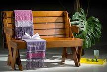 Varanda / Jardim   Toque a Campainha / Sua área externa merece um toque todo especial. Confira os móveis para a área externa da sua casa! http://goo.gl/LCwG50