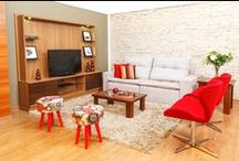 Sala de Estar | Toque a Campainha / Deixe a casa mais bonita para receber os amigos com muito conforto e bom gosto. Confira mais produtos em: http://goo.gl/LCwG50