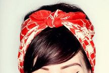 s t y l e   headscarves / Hair adornments for when you just can't be arsed