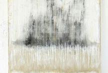 abstrakt und monochrom