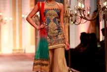 South Asian Wedding Sharara / Shararas are comfortable, flowy, and give anyone a slinking effect.