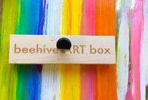 beehive ART SHOP / ART KITS, MOBILES, BOOKS, PENCIL CASES, MINI LANTERN KITS