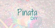 Pinata - DIY / Piñata. Super leuke en mooie pinata's.  Ideeën om te maken. - Great and beautiful DIY piñatas to make.  BMelloW.nl