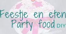Feestje en eten - Party food / Feestje en eten. Heerlijke (zoeten) gerechten voor op een feestje. Food made for a party. BMelloW.nl
