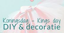 Koningsdag - Kings day - DIY & decoratie / Koningsdag. Knutselen en decoratie ideeën. Kings day ( Dutch holiday) DIY's and decoration ideas. BMelloW.nl