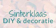 Sinterklaas - DIY & decoratie / DIY Knutselen en decoratie ideeën rond het thema Sinterklaas. Dutch kids Holyday.  BMelloW.nl
