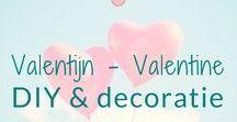 Valentijn - Valentine - DIY & decoratie / Knutselen en decoratie ideeën rond het thema Valentijn. Valentine DIY's and decoration ideas. BMelloW.nl