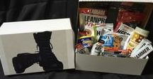 Military Themed Gift Baskets FIT Soldiers Care Packages / Fitness Themed Gifts