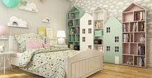 Kinder kamer - kids room / Mooie en inspirerende kinderkamers. Beautiful and inspirational children room's.  BMelloW.nl