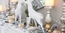 Christmas Inspirations / Ideas to decorate your tree & home for Christmas