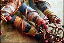 Paper Beads / There are just so many shapes and different types of paper to choose from when making paper beads. The possibilities are endless! / by Andrea Reed
