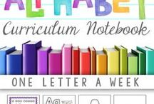 Alphabet / Alphabet printables, game, crafts, and letter of the week activities