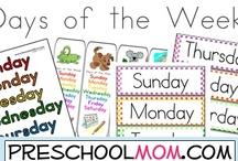 Days of the Week / by Preschool Kindergarten Mom