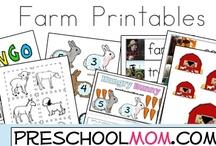 Farm  / by Preschool Kindergarten Mom