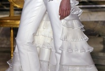 Wedding Pantsuit / If a Wedding Dress isn't your style have a Wedding Pant Suit custom made for you. A good dressmaker would have no problems creating your unique, designer looking wedding pantsuit / by Tenise Smith