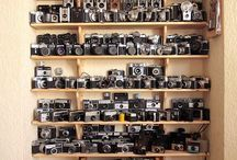 Camera Obsession / Cameras Cameras Cameras / by Sharon Winter-Schorr