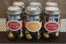 Gift in a jar / Was man so alles in ein Glas packen kann !