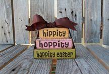Easter egg & more / Hippity hoppity happity easter