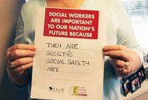 WHO AM I?? I AM A SOCIAL WORKER!!