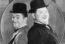 Laurel and Hardy / ☆ Stan Laurel made his debut on stage at the Britannia Panopticon 1906 ☆