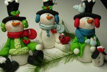 Fimo - christmas