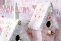 crafts - birdhouses / birdhouses
