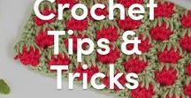 Crochet Tips & Tricks / Expert crochet tips, crochet tutorials and crochet help all in one lovely board.