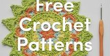 FREE Crochet patterns / Lots of fabulous free crochet patterns to download and get started on today.