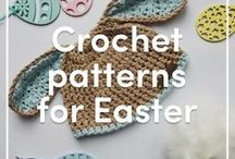 Crochet Patterns for Easter / Easter is such a gorgeous time and a perfect excuse to get crafting! Take a look at our beautiful selection of our handmade Easter decorations, garments and fun amigurumi chicks and eggs - enjoy!