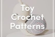 Toy Crochet Patterns / Gorgeous and fun toy crochet patterns for little ones and grown ups!