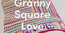 Granny Square Love / Granny squares in all shapes, sizes and colors
