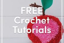 FREE Crochet Tutorials / Crochet projects we love from brilliant bloggers and talented designers across the globe! Check out more at http://www.blog.lovecrochet.com