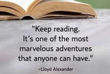 Favorite Quotes / Quotes on reading, writing, books and authors.